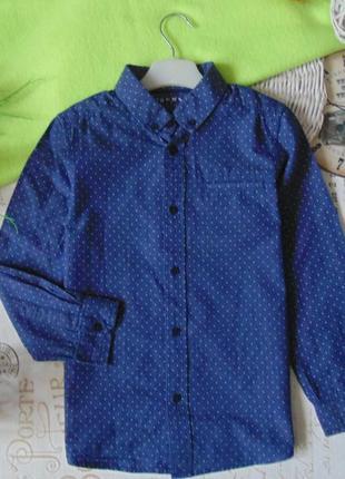 9-10лет.модная рубашка nutmeg.mега выбор обуви и одежды