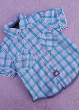 Рубашка 1,5-2года 86-92см next