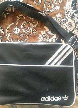 Сумка на плечо adidas original черная