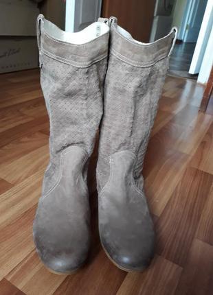 Сапоги кожаные madeleine размер 41