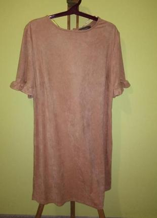 Платье под замшу от primark
