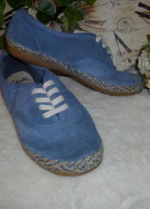 Кеди clarks (р. 31 (13) - устілка 19,5см) кроссовки тапочки макасіни