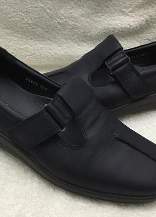 Туфли кожаные hotter оригинал 41р(7)