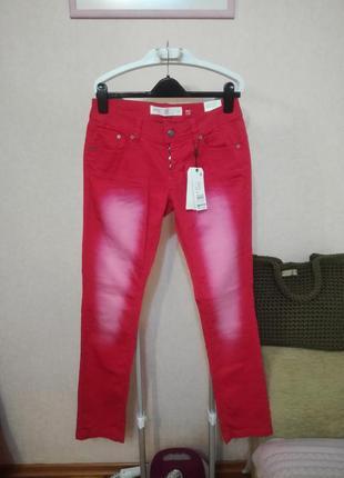 Крутые джинсы брюки s.oliver, р.27/28/29  uk10
