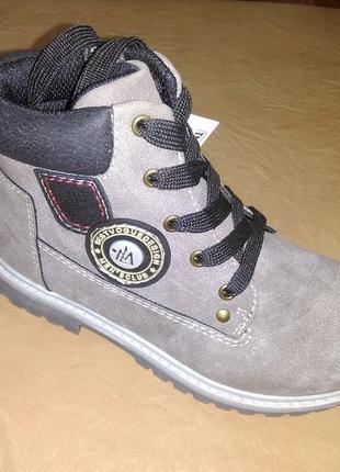 Демисезонные ботинки 27,29,30 р. b&g на мальчика, демісезон, ботінки, весенние, осенние