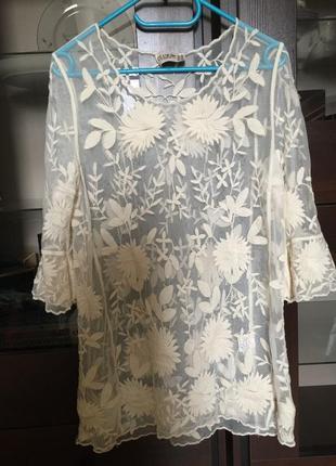 Кружевная блузка asos