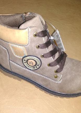 Демисезонные ботинки 27-31 р. b&g на мальчика, демісезон, ботінки, весенние, осенние