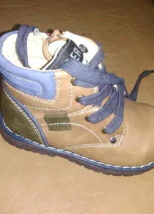 Демисезонные ботинки 22-27 р. b&g на мальчика, ботінки, хлопчик, весенние, осенние