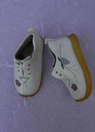 Ботинки ботиночки туфли 20 размер 12,5см стелька