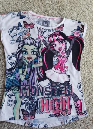Летняя футболка monster high