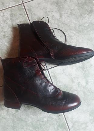 Кожаные ботинки vabeene.