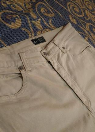 Белые джинсы armani jeans