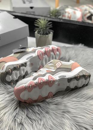 Шикарные женские кроссовки skechers d'lites pink/white 😍 (весна/ лето/ осень)6 фото