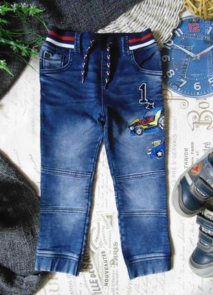 2-3года.моднячие джинсы джоггеры tu.mега выбор обуви и одежды