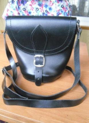 Мегастильная сумка 100%нат.кожа кроссбоди 442748fde982d