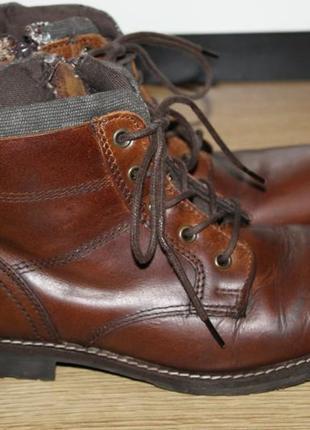 Шкіряні ботиноки в школу