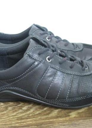 Кожаные туфли (кроссовки) ecco р.41 оригинал.