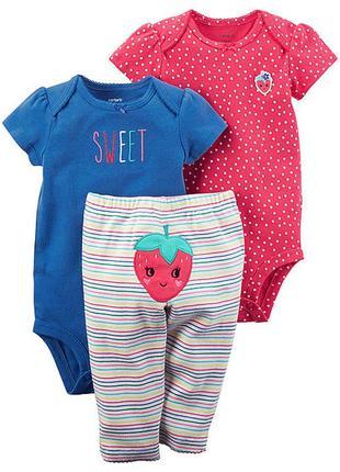 Комплект набор костюм попки для дівчинки