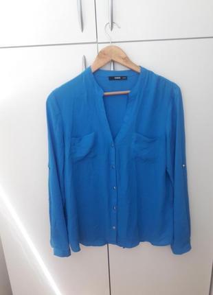 Шифоновая блузка с длинным рукавом  oasis 71645