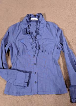 Стильная блузка интересного фасона