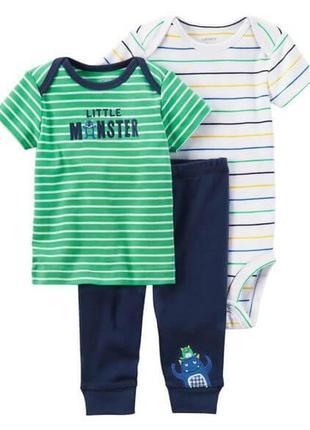 Комплект набор костюм попки для хлопчика