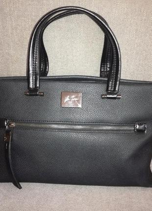 Красива класична сумка італія velina fabbiano