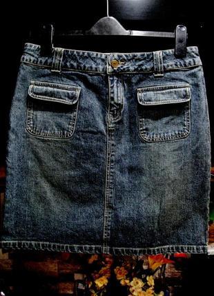 Джинсовая юбка стрейч от usa бренда  нью джерси