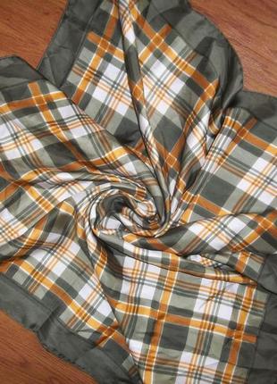 Шелковый шарф ted lapidus