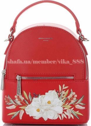 Рюкзак в городском стиле david jones 5150 красный