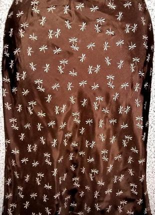 Шелковая юбка от бренда manoukian.оригинал