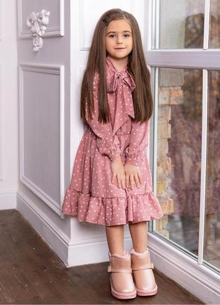 Романтическое весеннее вискозное платье2