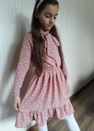 Романтическое весеннее вискозное платье3