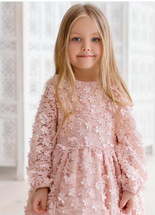 Шикарное кружевное платье, в 3dцветах.
