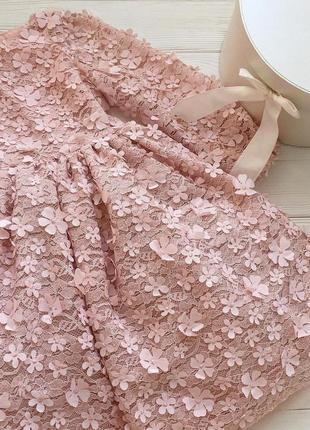 Шикарное кружевное платье, в 3dцветах.2