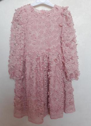 Шикарное кружевное платье, в 3dцветах.3