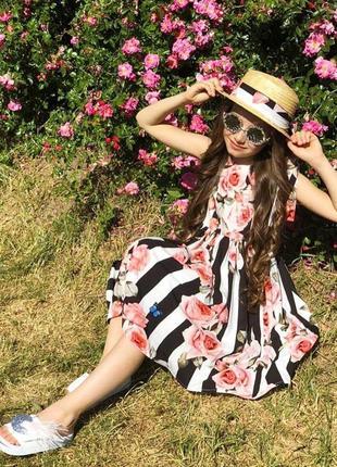Красивое летнее вискозное платье