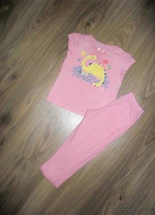 Пижама на 3-4годика
