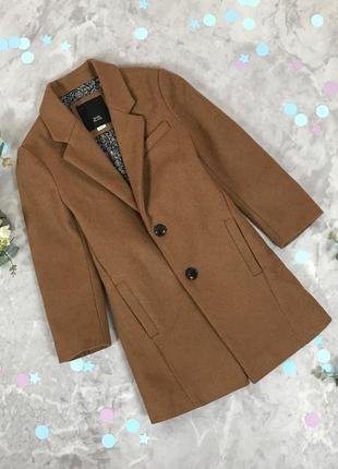 Детское пальто прямого кроя с натуральной шерсти  ov 1910087  river island