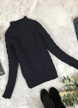 Красивый свитер с высокой горловиной   sh1910147  tu