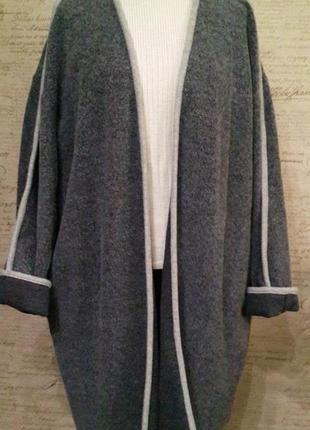 Кардиган пальто накидка