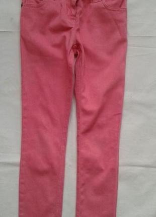 Коралловые джинсы скинни next (6-7 лет  )