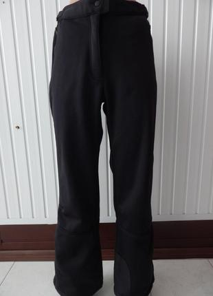 Женские лыжные штаны черные сrivit