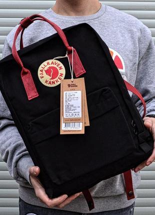 Рюкзак канкен fjallraven kanken сумка портфель classic класик 16 черный