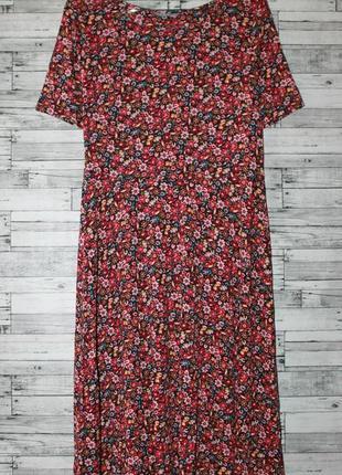 Платье в цветочный принт m&s