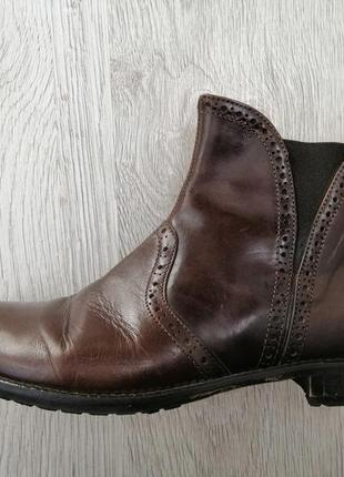 Ботинки кожаные италия