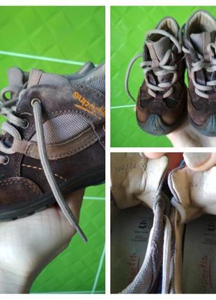Актуальные ботиночки, ортопедическая стелька ,р. 23
