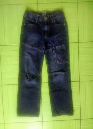 Темные прямые джинсы франция качество scamps&boys