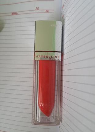 Жидкая помада maybelline color elixir 505 signature scarlet
