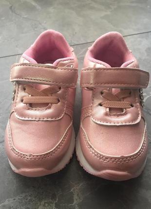 Кроссовочки для девочек  в размерах 22-262 фото