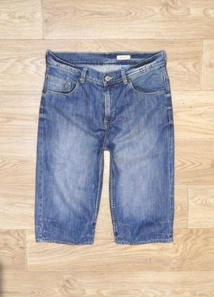 Джинсовые шорты h&m р. s 170 см. идеальное состояние